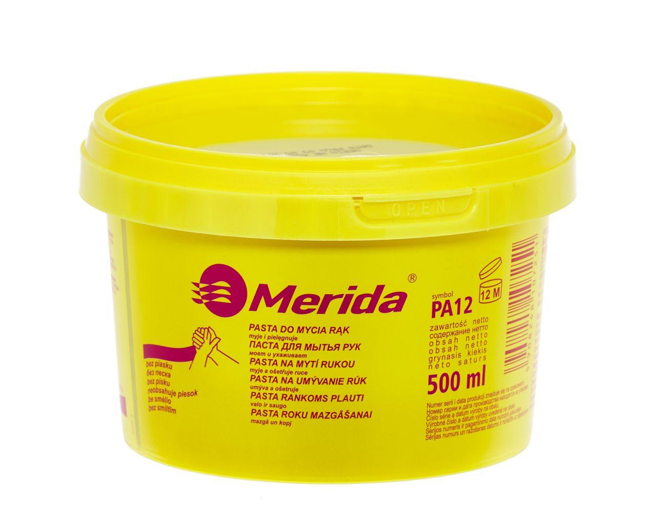Pasta PA12 500 ml do mycia silnie zabrudzonych rąk, nawilżająca skórę