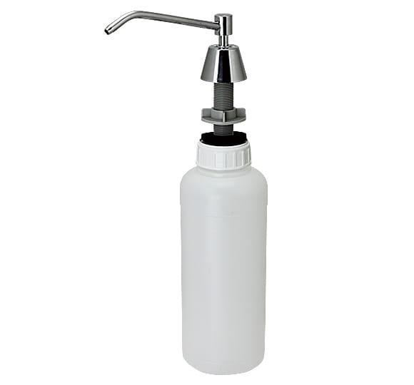 Dozownik do mydła w płynie blatowy pojemność 1000 ml polerowany