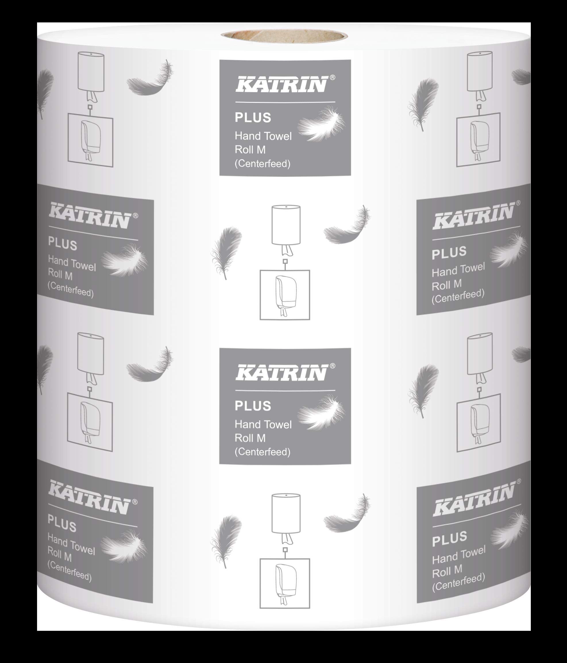 Ręcznik papierowy w roli 2658 Katrin Plus M2 90 mb celuloza 2-warstw.